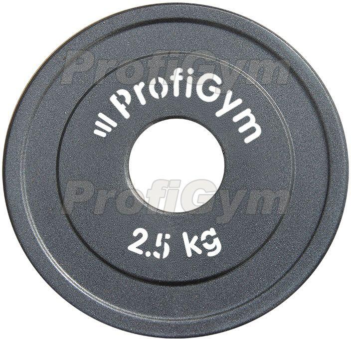 Диск стальной «Powerlifting» с полимерным покрытием, 2,5 кг