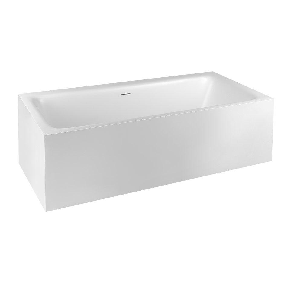 Ванна из искусственного камня Gessi Rettangolo 37593 180x81 ФОТО