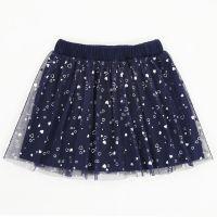 Фатиновая юбка для девочек 2-5 лет Bonito с сердечками