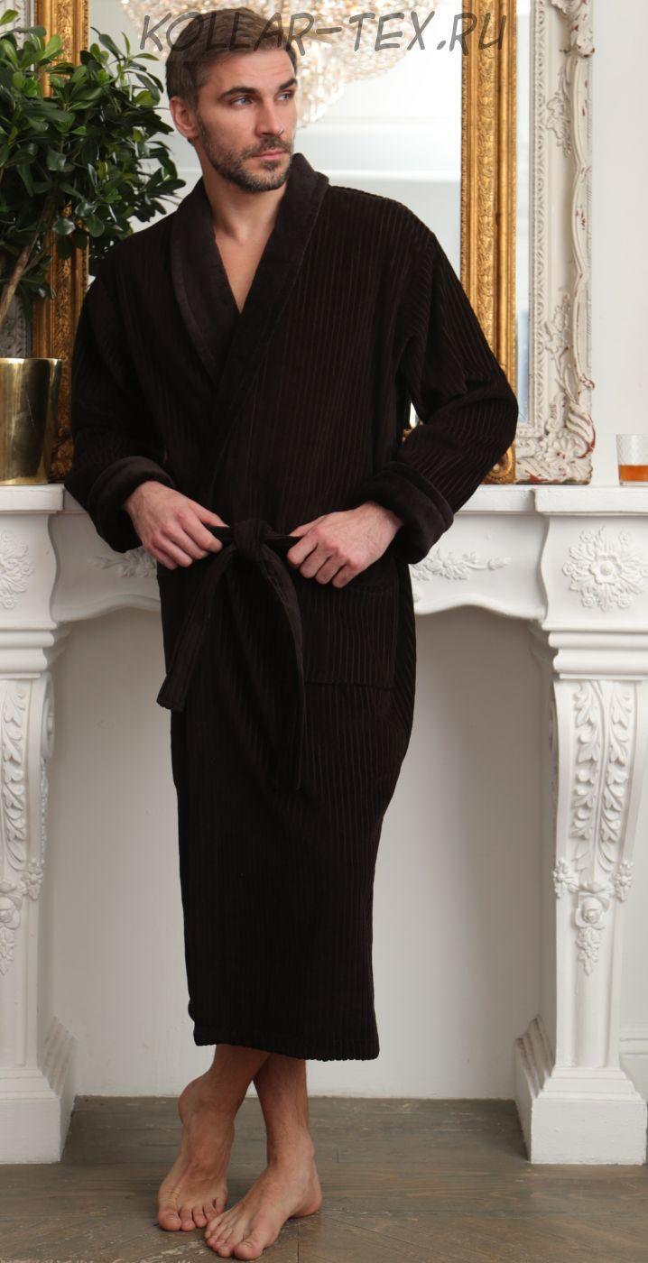 Мужской велюровый халат Император, Five Wien
