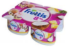 Продукт йогуртный Фруттис 8% банан-сплит/пинаколада 115г ООО Кампина