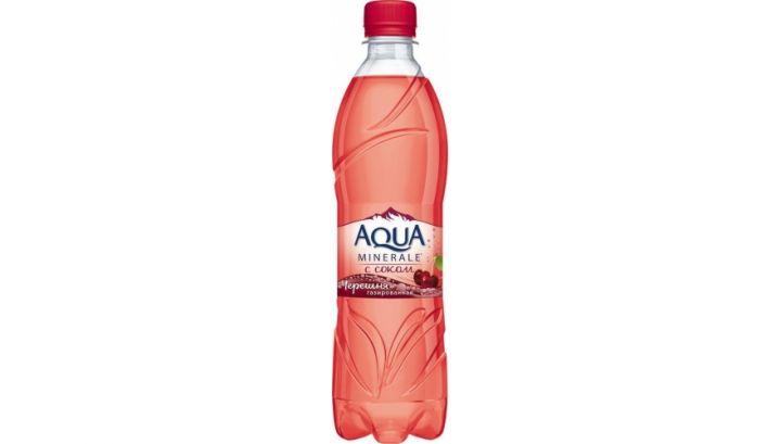 Мин.вода Аква Минерале Черешня Газ 0,5л Пепси