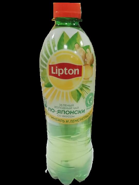 Чай Липтон 0,5л Имбирь Лемограсс пэт Пепси
