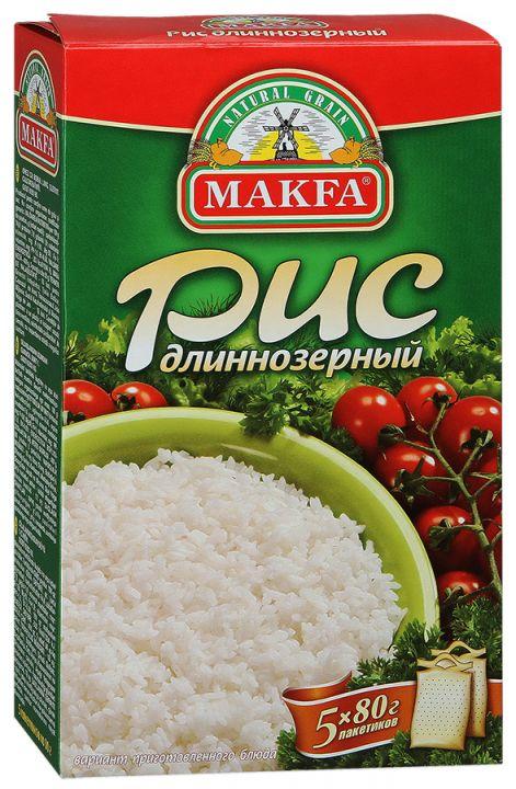 Крупа Макфа рис длиннозерный 5*80г