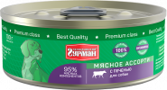 Четвероногий гурман Мясное ассорти для собак с печенью (100 г)