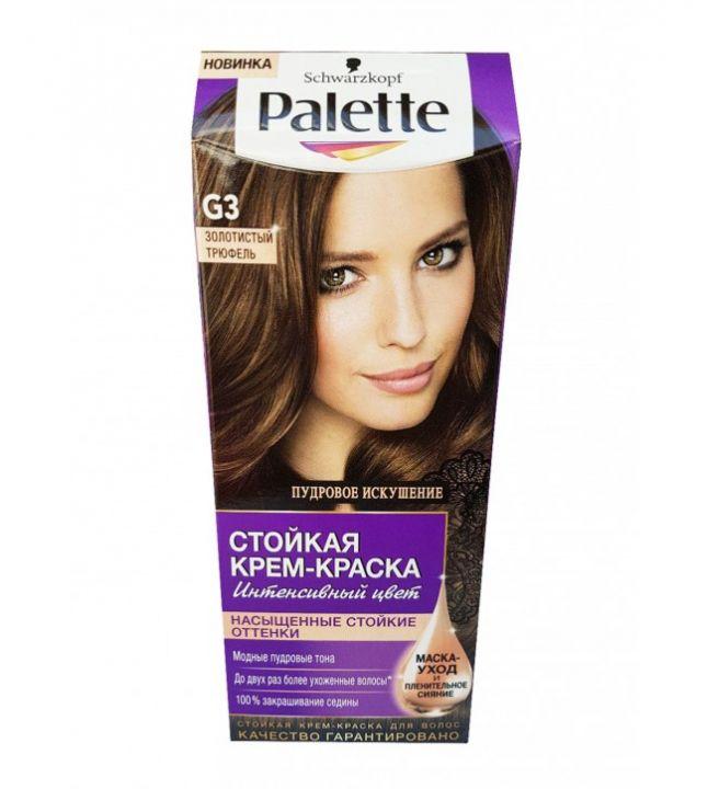 Краска д/волос PALETTE G3 золотистый трюфель
