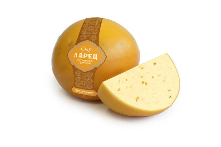 Сыр Ларец с грец. орехом 1кг