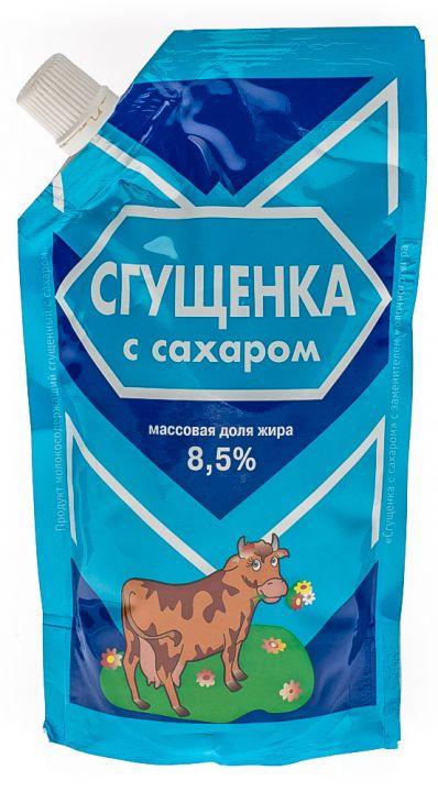 Продукт молокосодержащий с ЗМЖ сгущенный с сахаром 8.5% д/п 270г Назарово