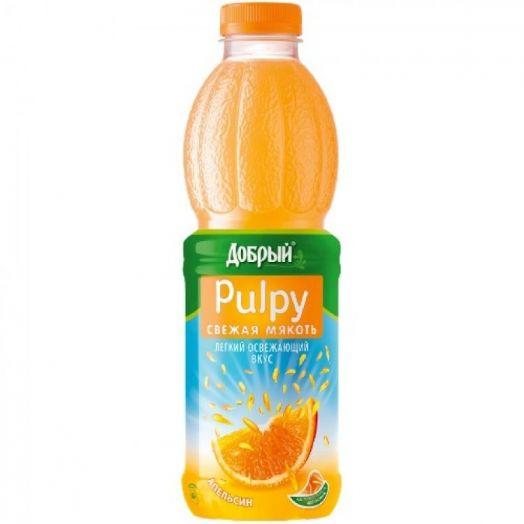 Напиток сок. Палпи апельсин 0,45л пэт