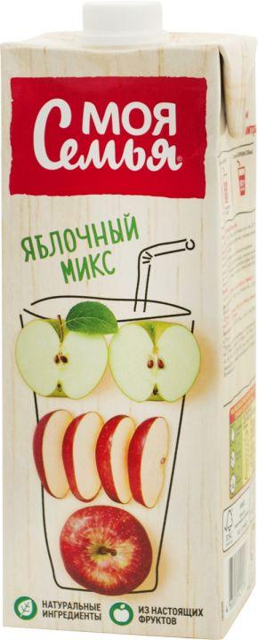 Напиток Моя Семья 0,95л Яблочный микс