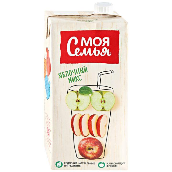 Напиток Моя Семья 1,93л Яблочный микс