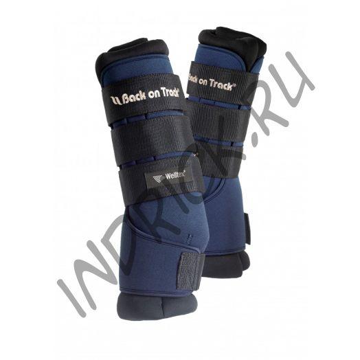 Денниковые ногавки с ватниками Back on Track Royal, цвет Blue