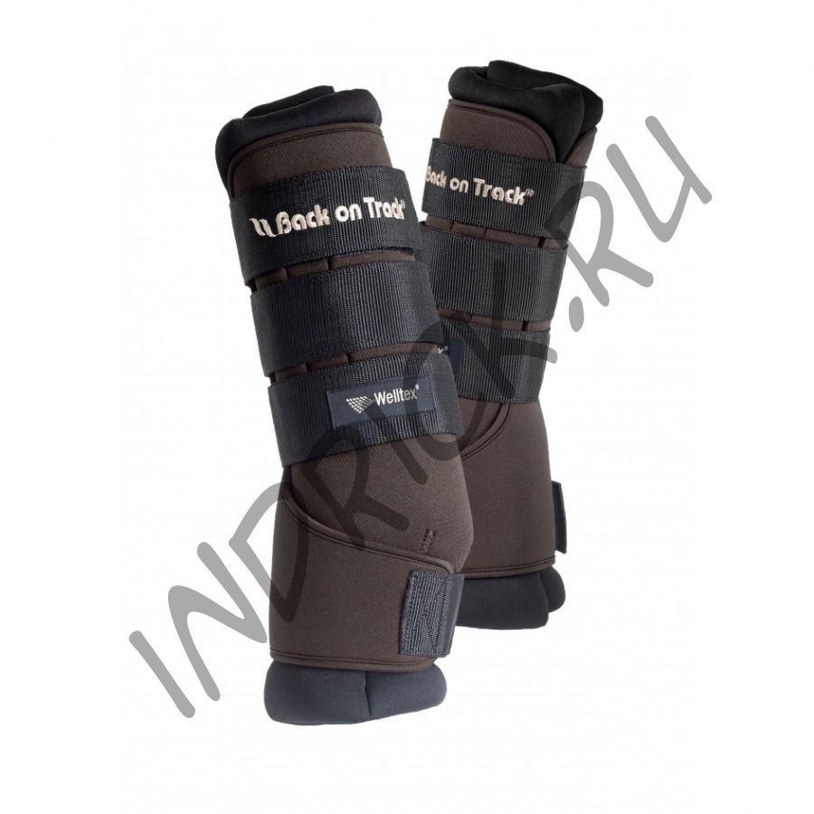 Денниковые ногавки с ватниками Back on Track Royal, цвет Brown