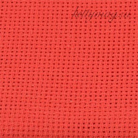 Канва мелкая арт.851 (613/13) (10х60кл) 40х50см цв.красный