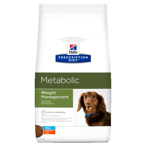 Корм сухой HILL's DIET METABOLIC MINI  диета для собак мелких пород для контроля веса 1.5кг
