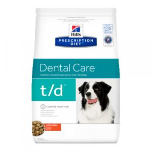 Корм сухой HILL's DIET T/D диета для собак всех пород для гигиены полости рта 3кг