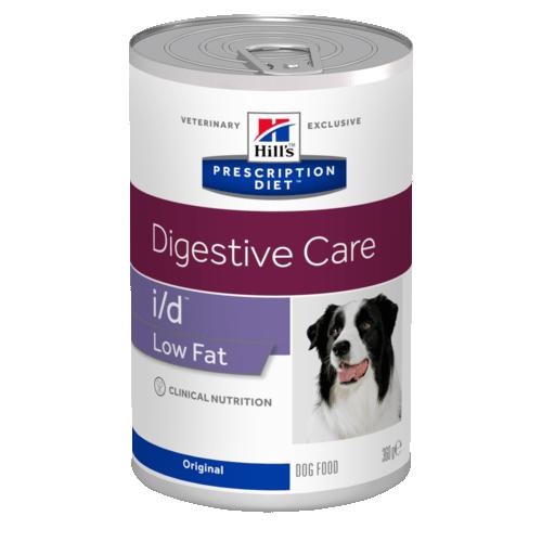 Консервы HILL's DIET I/D LOW FAT диета для собак всех пород при нарушении пищеварения низкокалорийный 360гр