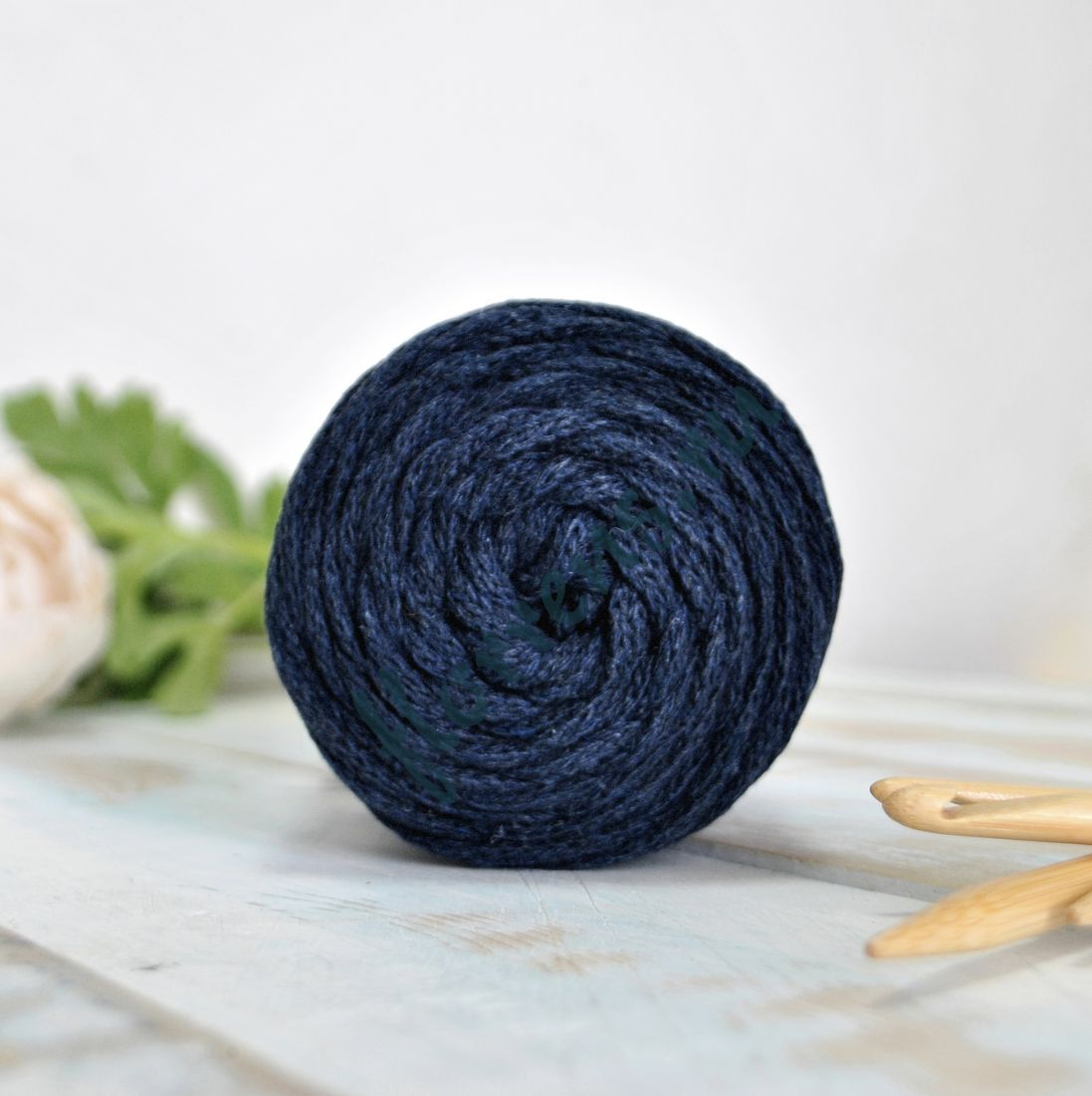 Шнур для вязания / темно-синий
