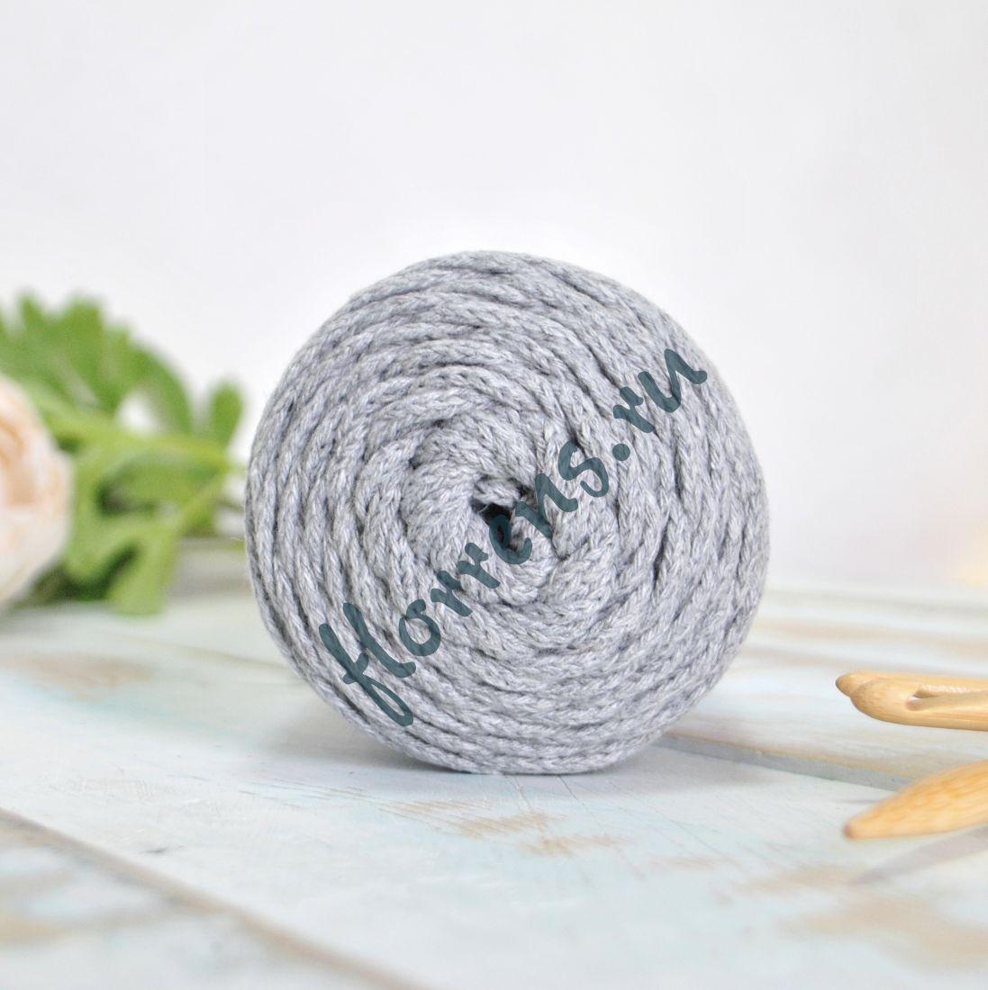Шнур для вязания / светло-серый
