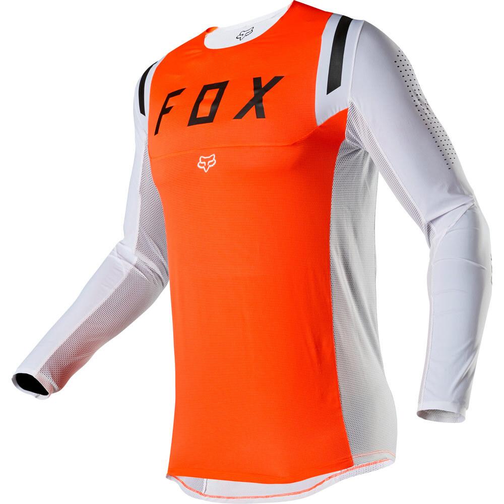 Fox - 2020 Flexair Howk Fluorescent Orange джерси, оранжевое
