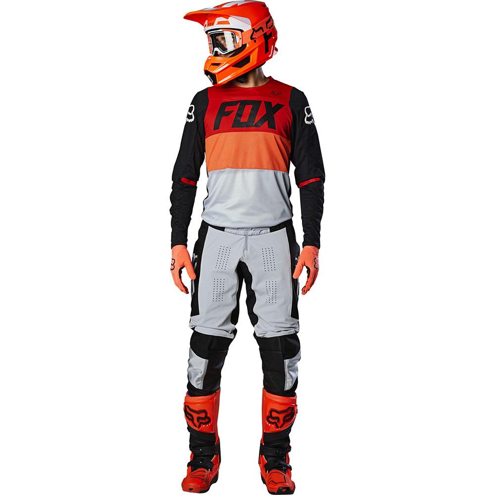 Fox - 2020 360 Bann Light Grey комплект джерси и штаны, серый