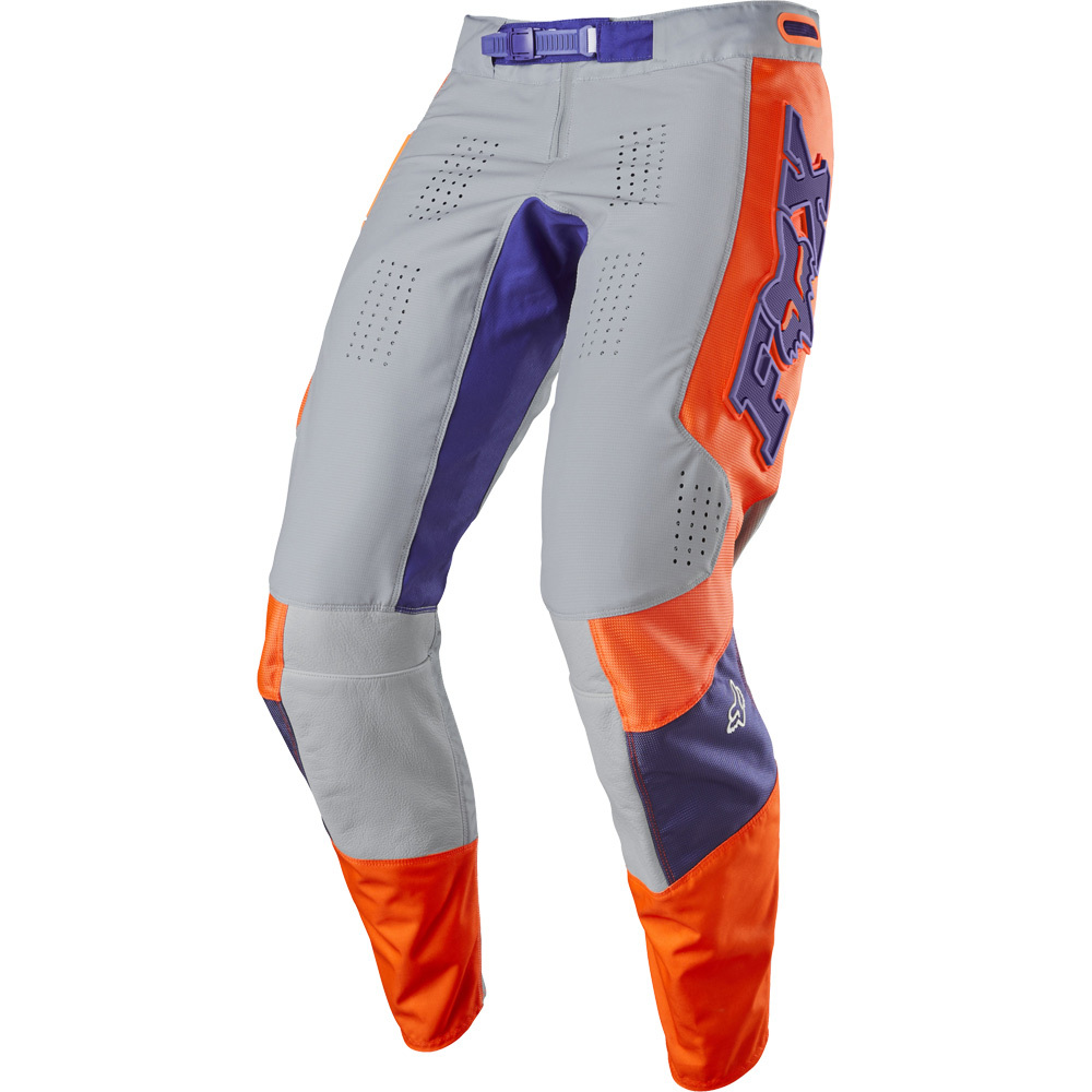 Fox 360 Linc Grey/Orange  штаны, серо-оранжевые