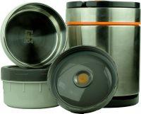 Термос Steel Food S 1,4 литра с двумя судочками для еды