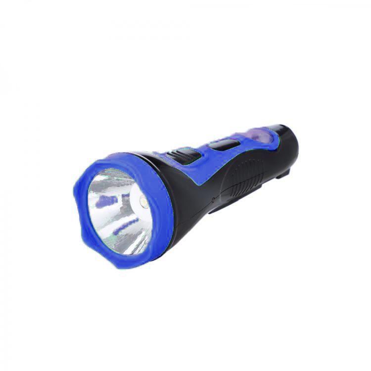 Аккумуляторный фонарь с солнечной батареей 2 в 1 Solar Flashlight HL-2912, цвет синий