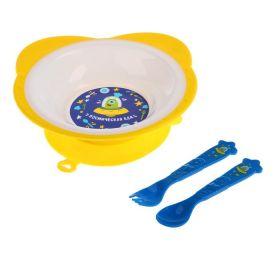 Набор посуды «Космическая еда», 3 предмета