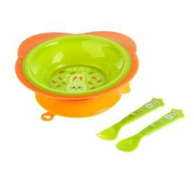 Набор посуды «Зайка Тим», 3 предмета