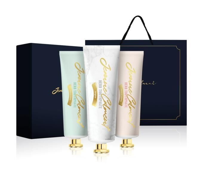 Набор зубных паст Jeanne Calment Herb Toothpaste Assorted Collection