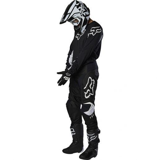 Fox - 2020 180 Prix Black/White комплект джерси и штаны, черно-белый