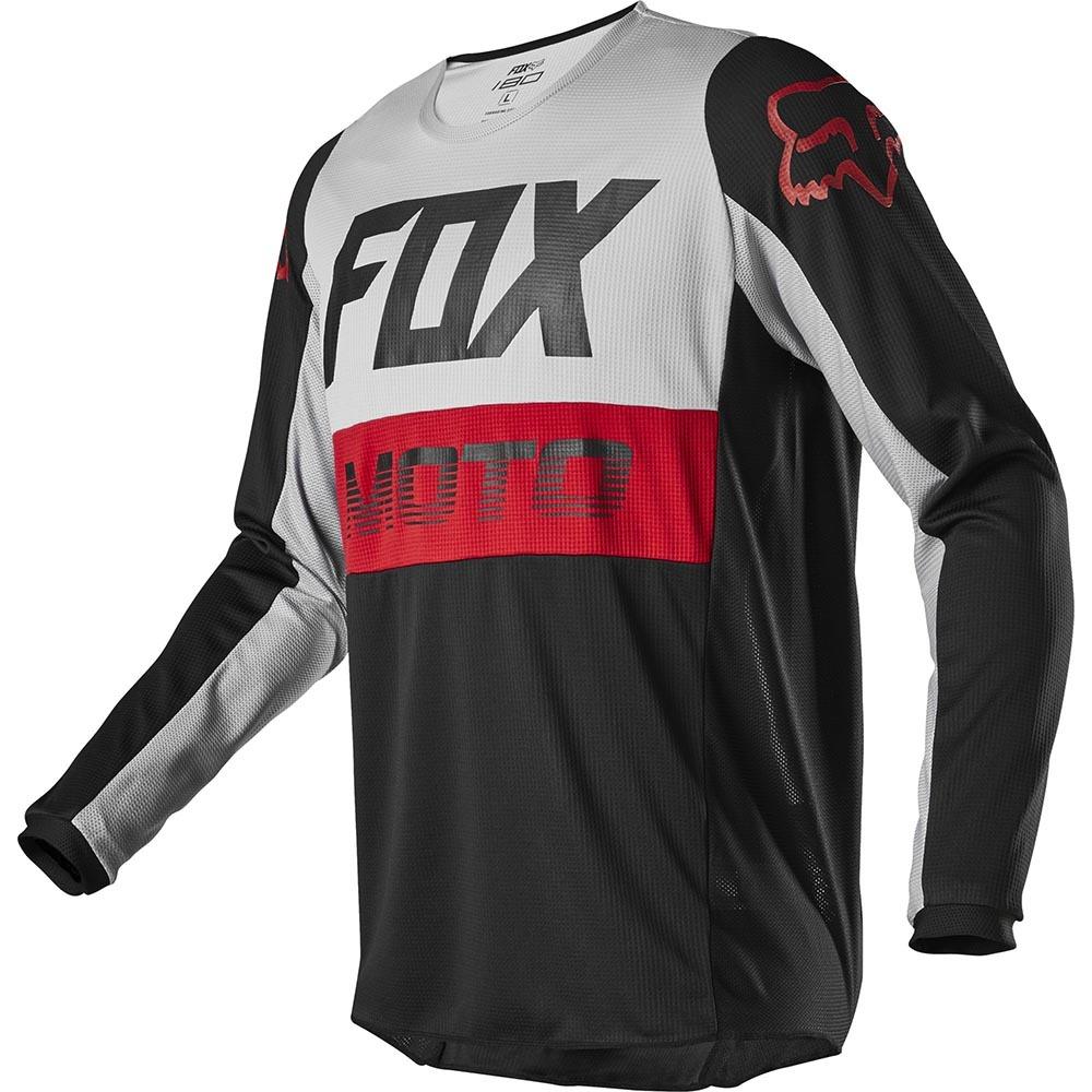Fox - 2020 180 Fyce Grey джерси, серое