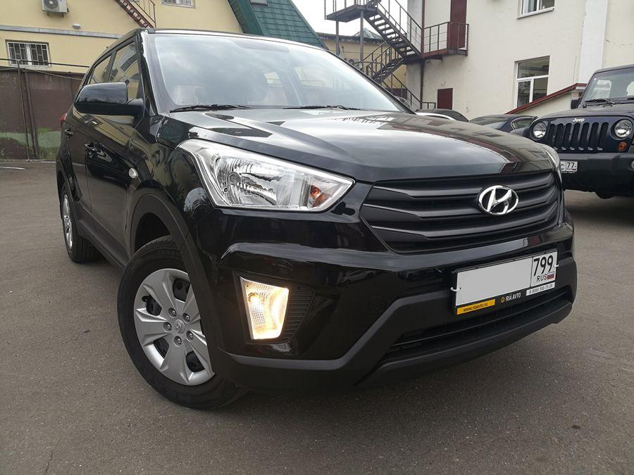 Hyundai Creta 2018г. Автомат (черный)