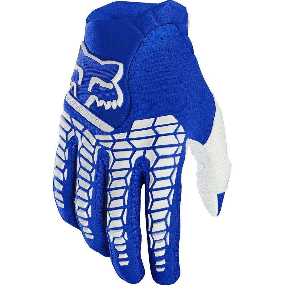 Fox - 2020 Pawtector Blue перчатки, синие