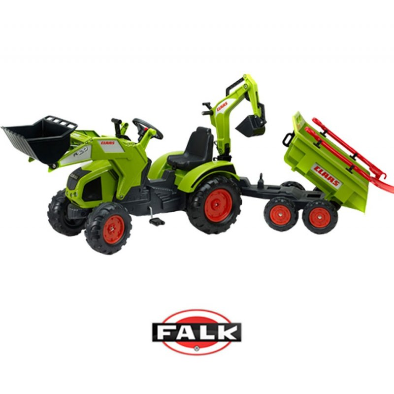 Детский трактор Falk Claas Axos на педалях 1010WH