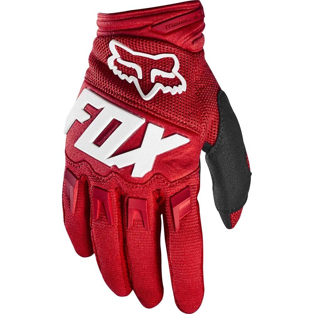 Fox - 2020 Dirtpaw Race Red перчатки, красные