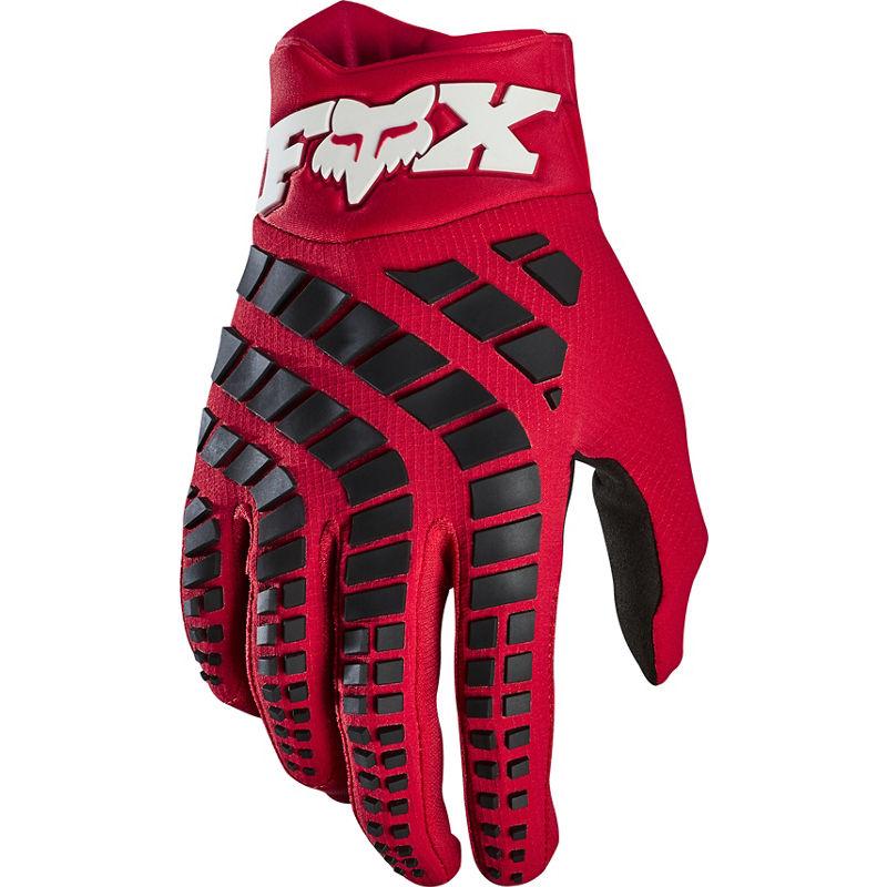 Fox - 2020 360 Grav Flame Red перчатки, красные