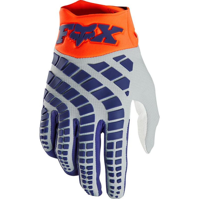 Fox - 2020 360 Grav Fluorescent Orange перчатки, оранжевые