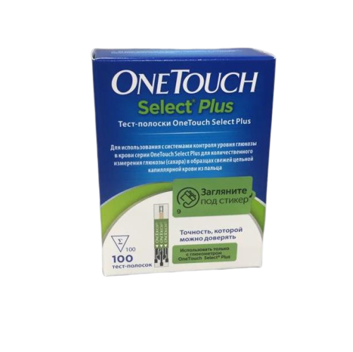 Тест полоски One Touch Select PLUS #100