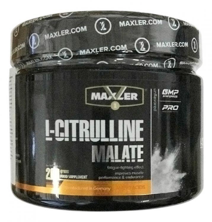 L-Citrulline Malate от Maxler 200 гр
