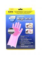 Многофункциональные силиконовые перчатки Magic Brush, 2 шт
