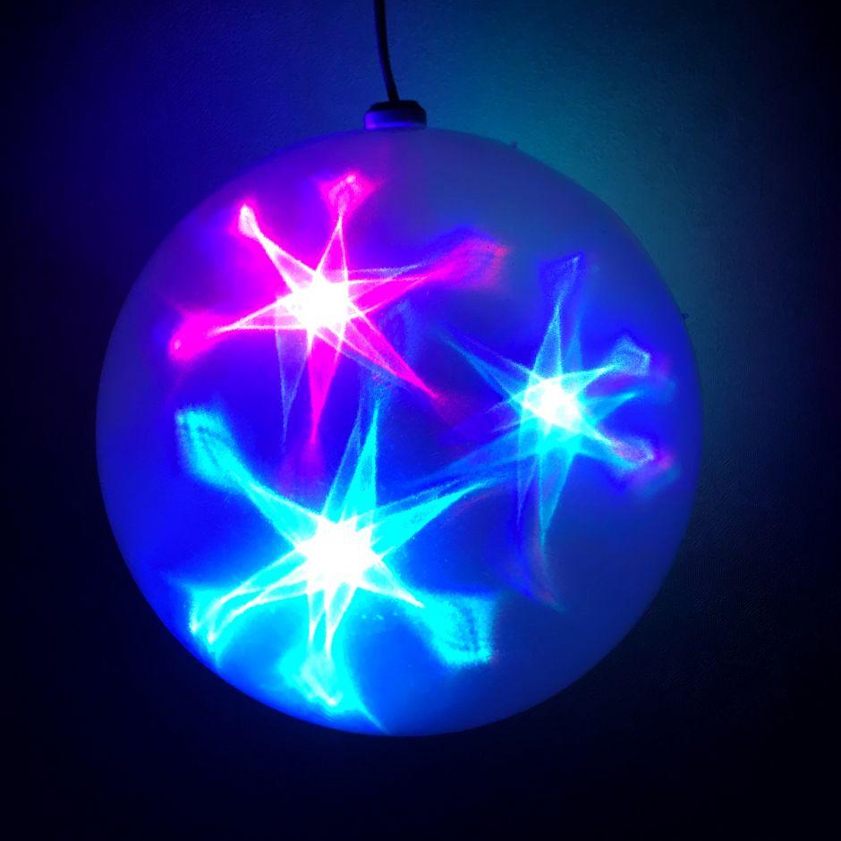 Большой эксклюзивный шар с LED светодиодами
