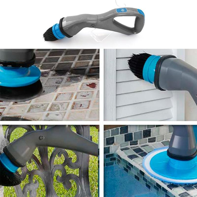 Беспроводная щётка для уборки Hurricane Muscle Scrubber