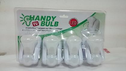 Набор лампочек на батарейках 4 шт Handy Bulb