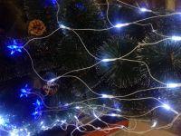 Светодиодная гирлянда-сетка с LED подсветкой ЗВЕЗДА
