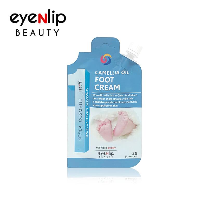 Крем для ног с маслом камелии EYENLIP CAMELLIA OIL FOOT CREAM 25гр