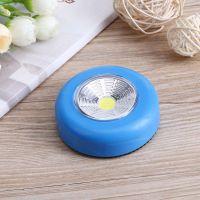 Светодиодный мини-светильник на липучке Stick Touch Lamp, цвет синий (2)