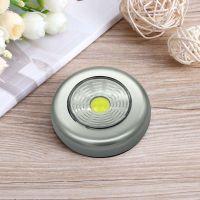Светодиодный мини-светильник на липучке Stick Touch Lamp, цвет серебристый (2)