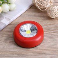 Светодиодный мини-светильник на липучке Stick Touch Lamp, цвет красный (2)